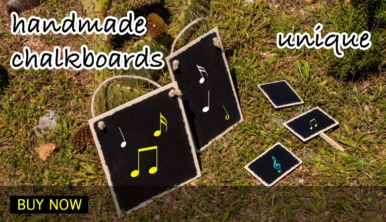 Unique handmade chalkboards