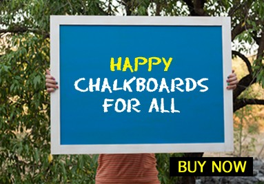 Happy chalkboards